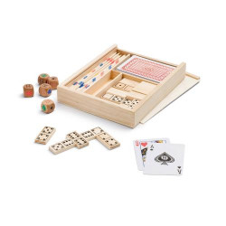 PLAYTIME. 4-in-1 game set