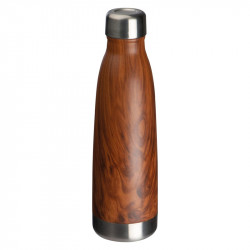 Steel bottle wooden look Tampa