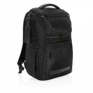 """Swiss Peak RPET Voyager USB & RFID 15.6""""laptop backpack"""