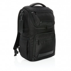 "Swiss Peak Voyager USB & RFID 15"" laptop backpack"