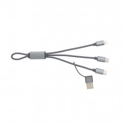 4-in-1 mini braided cable