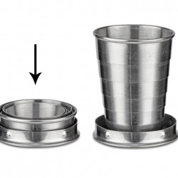 Foldable cup PROST 65 ml