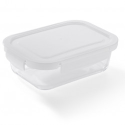 Glass food container LASO 500 ml