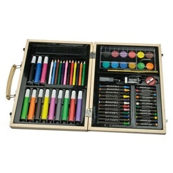 Big wooden painting set Maxi