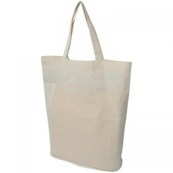 Foldable shopping bag in cotto
