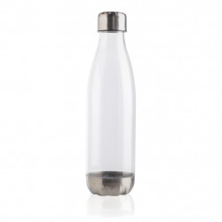 Leakproof water bottle with stainless steel lid