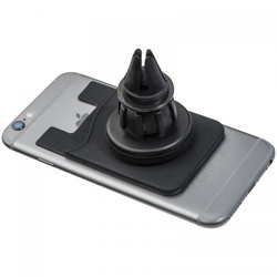 Smartphone card holder with a magnetic holder
