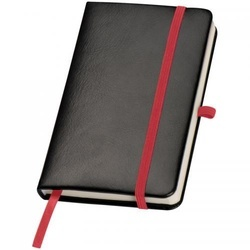 DIN A6 notebook with stickynot