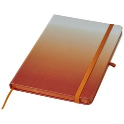 Gradient hard cover notebook