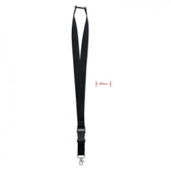 Lanyard, cârlig metalic 25mm.