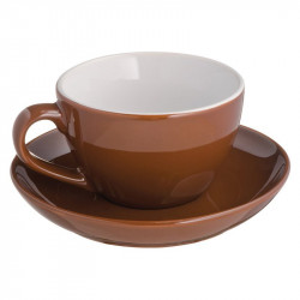 Mug with saucerplate St.Moritz