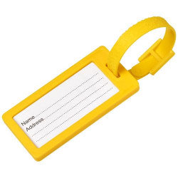 River window luggage tag