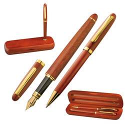Rosewood writing set Oxford