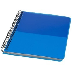 Colour-block A5 spiral notebook