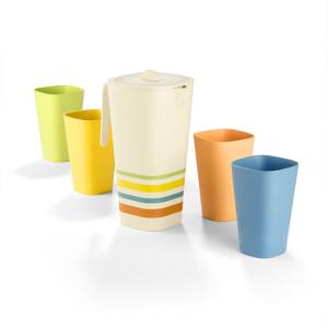 Gift Set MARTIS (Jug 1100 ml + 4 x mug 350 ml)