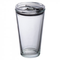 Glass mug with lid Wattenschei