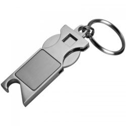Keychain with shopping coin