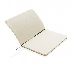 Standard flexible softcover notebook