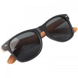Sunglasses with wooden-look