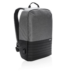"Swiss Peak RFID anti-theft 15.6"" laptop backpack"