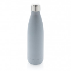 Vacuum insulated reflective visibility bottle