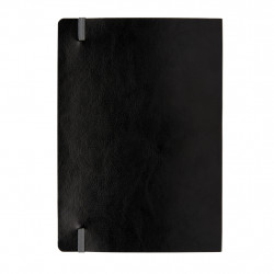 Deluxe A5 flexible softcover notebook coloured edge