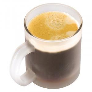 Glass coffee mug Genova