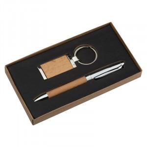 Metal-wooden gift set Enschede