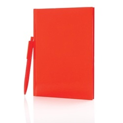 Standard hardcover A5 notebook with X3 pen