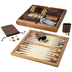 Tower 6-in-1 board game set