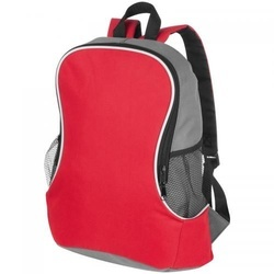 Backpack with side compartment