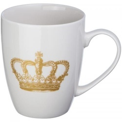 Cup with crown print