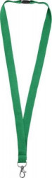 Dylan cotton lanyard with safety clip