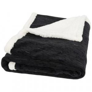 Sam heathered fleece plaid blanket