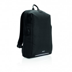 Swiss Peak RFID and USB laptop backpack PVC free
