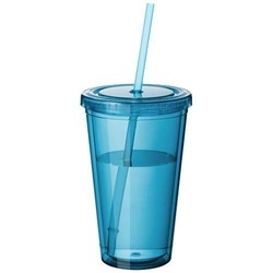 Cyclone 450 ml insulated tumbler with straw