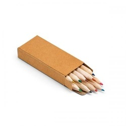 Pencil box with 10 coloured pencils