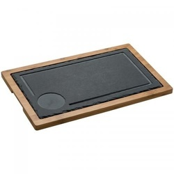 Serving Board, slate/wood
