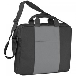 Shoulder bag with a broad
