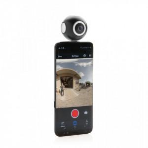 Dual lens 360 camera