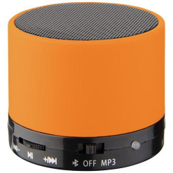 Duck cylinder Bluetooth® speaker with rubber finish