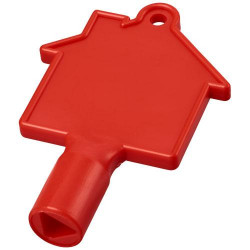 Maximilian house-shaped meterbox key