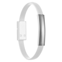 Silicon bracelet with data cable Le Port