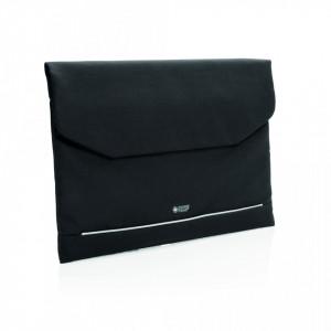 """Swiss Peak RFID 15.6"""" laptop sleeve PVC free"""