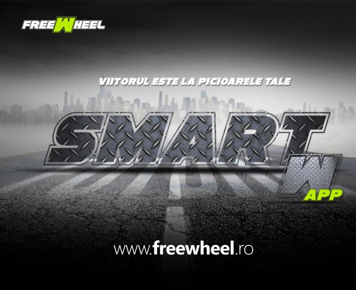 Hoverboard Freewheel Smart