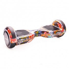 Poze Hoverboard Freewheel Junior Graffiti Albastru