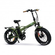 Bicicleta Gentle Electric – Fat Bike V2 Verde