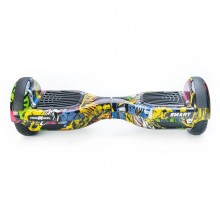 Hoverboard Freewheel Smart Graffiti Galben