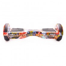 Hoverboard Freewheel Junior Graffiti Albastru