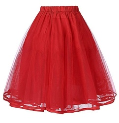 Retro Vintage Swing Dress Crinoline